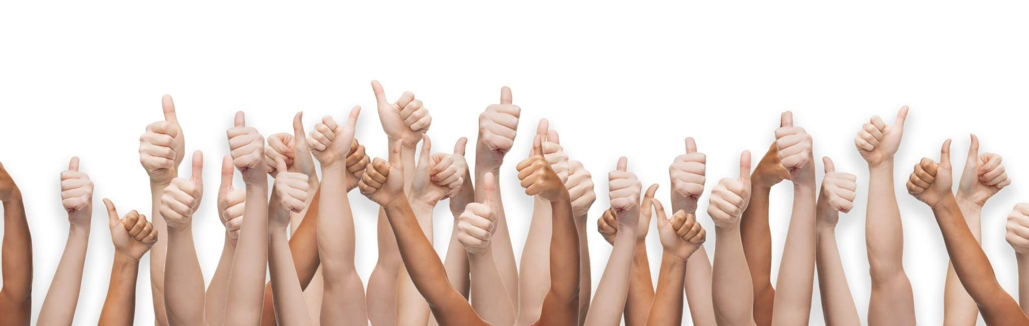 many-thumbs-up-on-white-background-min